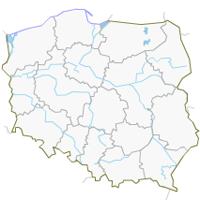 Stara mapa Polski